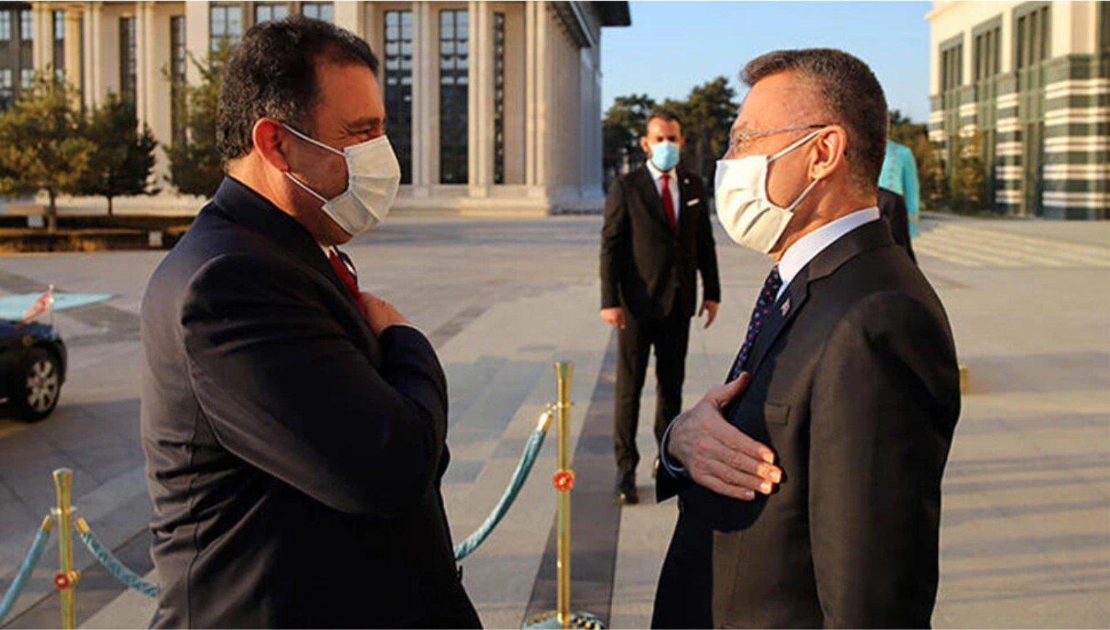 Başbakan Ersan Saner, Mali Protokol'ün imza törenine katılmak üzere Ankara'ya gidiyor